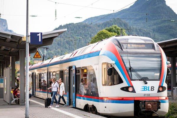 Bahnhof Bad Reichenhall ©Alpine Pearls/Dietmar Denger