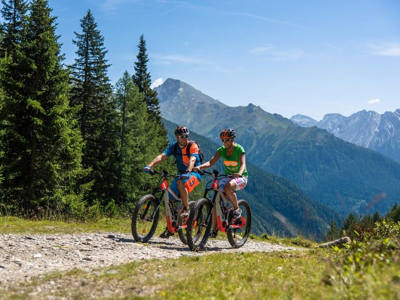 e-Bike im Nationalpark Hohe Tauern © Nationalpark Hohe Tauern, Franz Gerdl