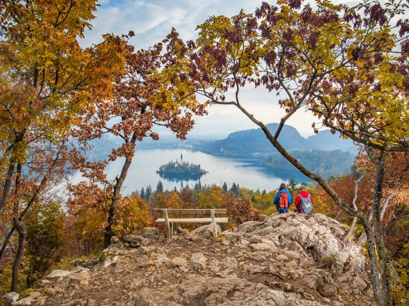 Blick auf den Bleder See (c) Copyright Jost Gantar Velika