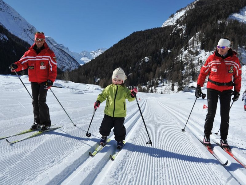Kinder Langlaufkurs in Cogne (c) Paolo Rey
