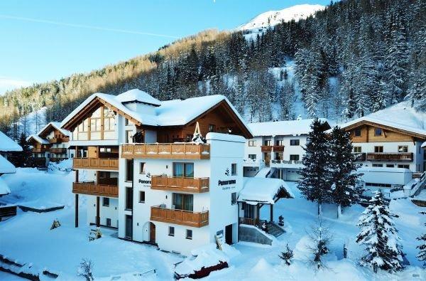 Residence Panorama Moos im Passeiertal Winter