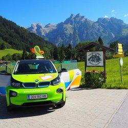 BMW i3 Werfenweng