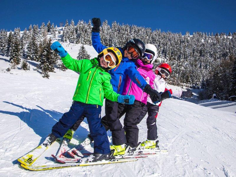 Skiurlaub mit Kindern Alpe Cimbra (c) Gober