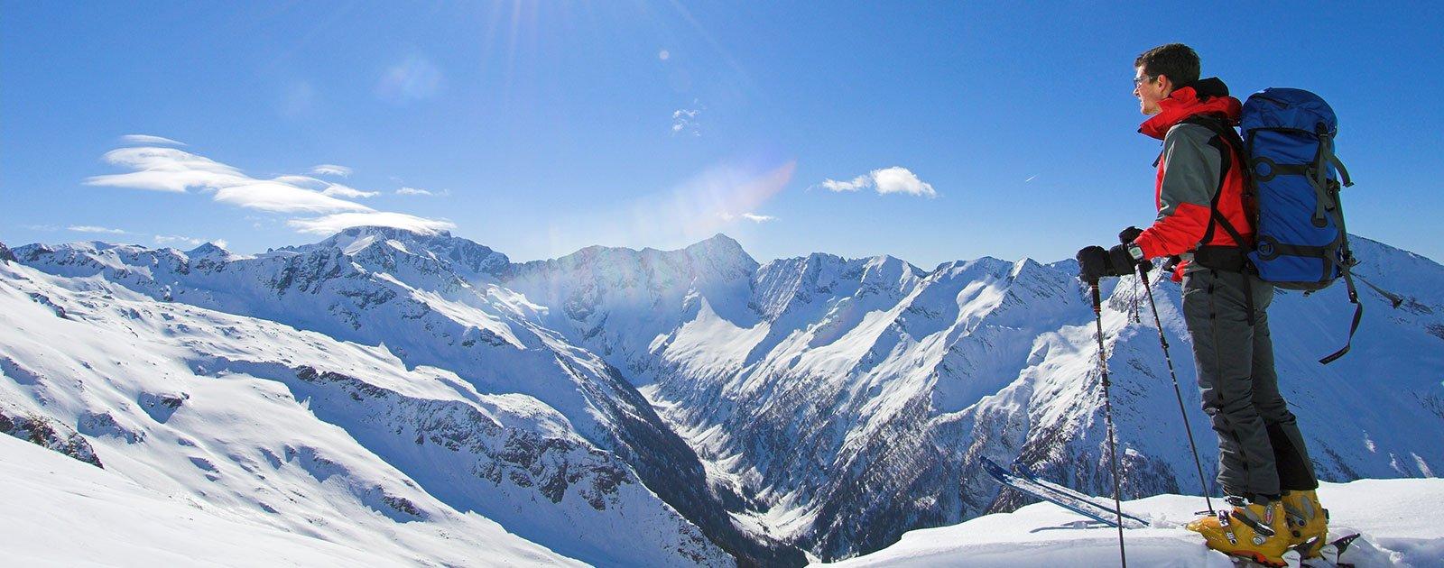 Ankogel Skitourengeher