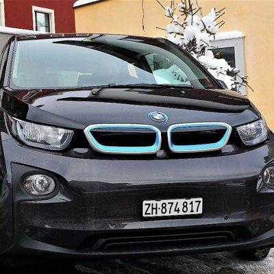 BMW elettrica a Disentis