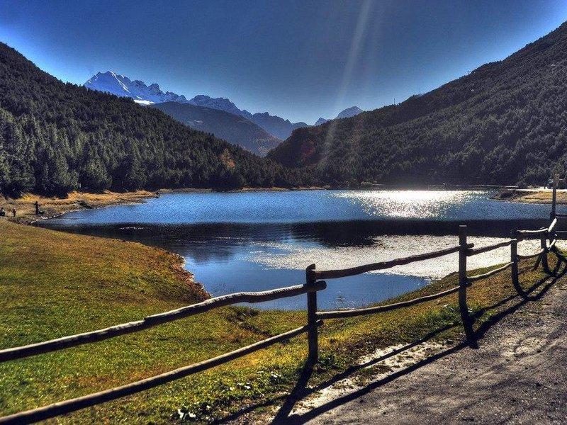Lago delle Scale im Sommer