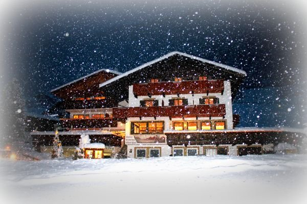 Pension Widmann Moos im Passeiertal Schneefall