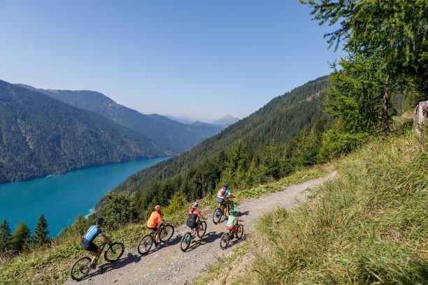 Mountainbiken Weissensee Kaernten