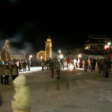Neujahr in Chamois