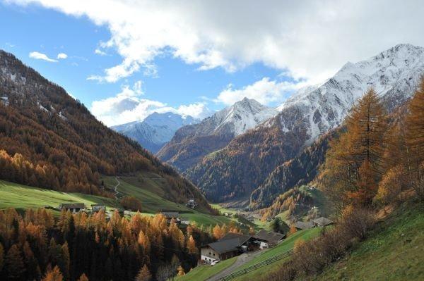 Herbst im Passeiertal (c) Tourismusverein Passeiertal/Kassian Plangger