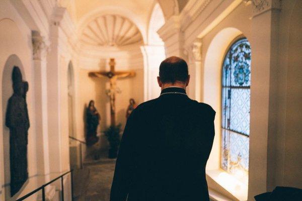 Abt Benediktinerkloster Disentis