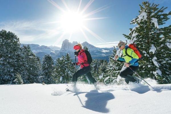 Schneeschuhwandern Villnoesser Tal