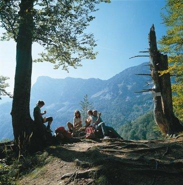 Wandern im Nationalpark Berchtesgaden