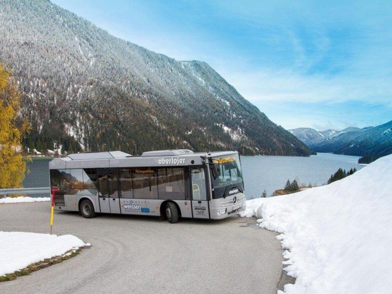 Naturparkbus im Winter