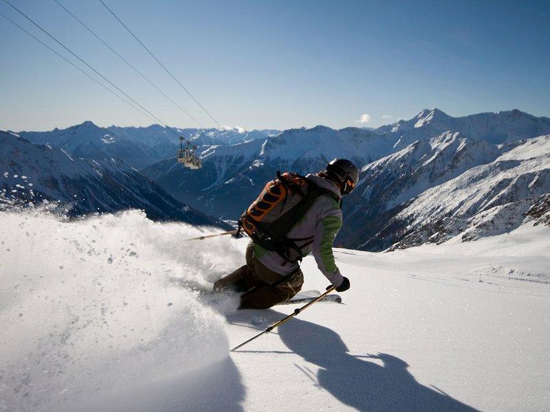 Skiabfahrt ©Martin Glantschnig