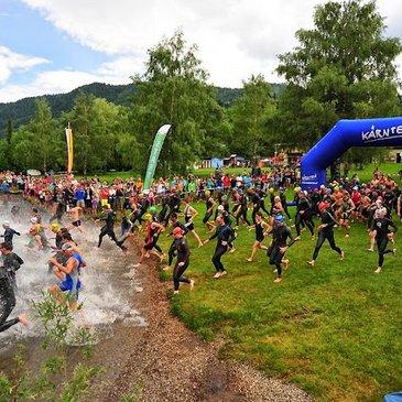 Triathlon in Weissensee