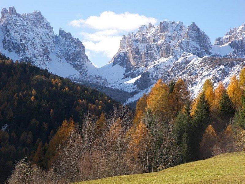 Herbst in den Friulanischen Dolomiten