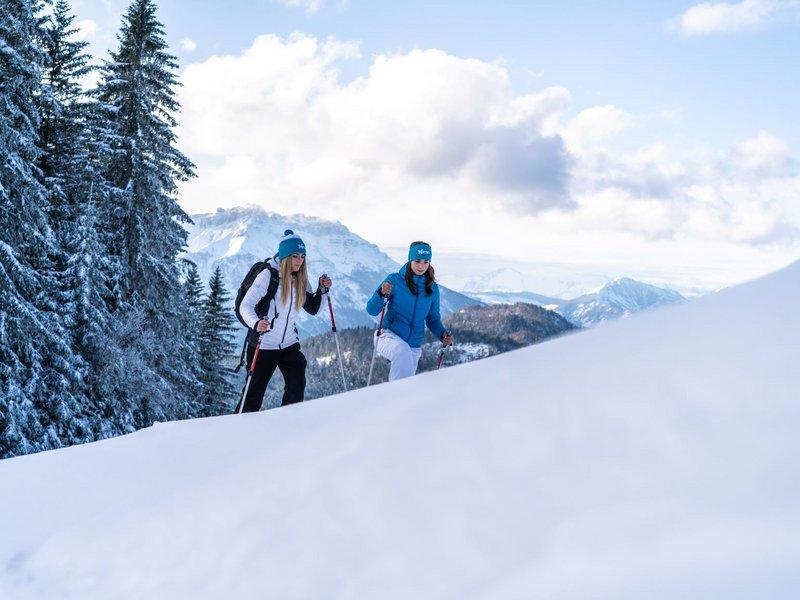 Schneeschuhwanderung Lavarone (c) Gober