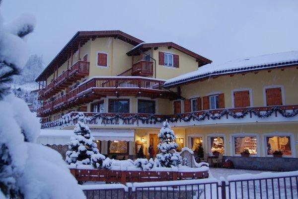 Hotel Alle Alpi Moena Winter
