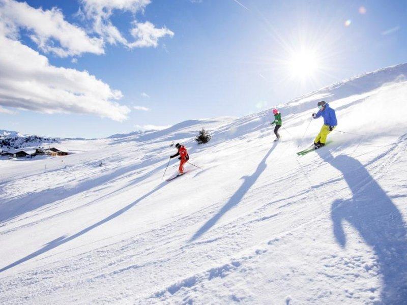 Frühjahrsskilauf Südtirol