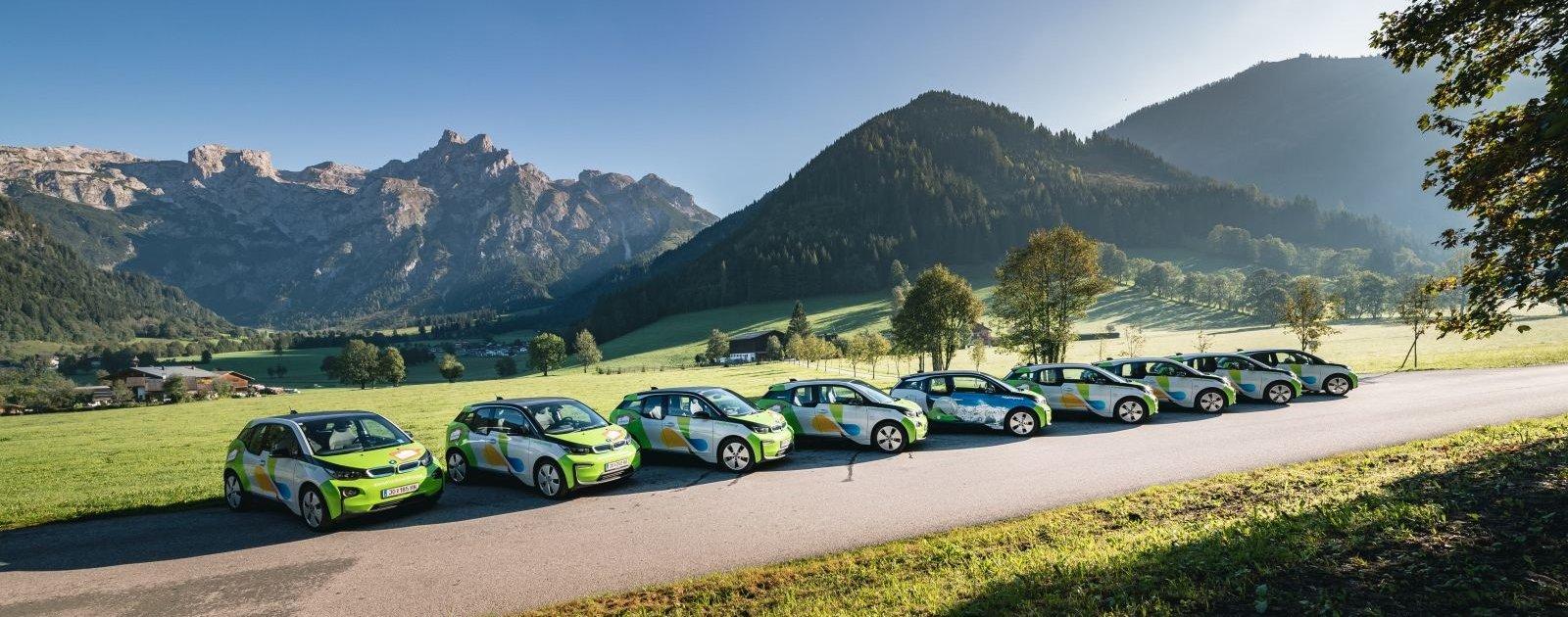 Elektroautos in Werfenweng (c) Christian Schartner