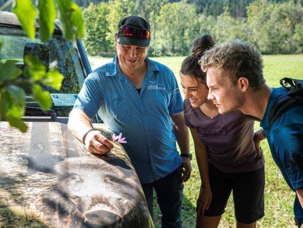 Unterwegs mit dem Naturkpark Ranger (c) Dietmar Denger