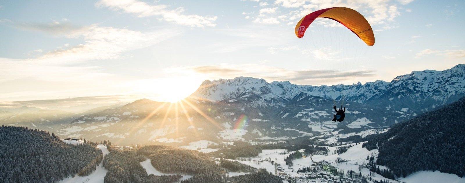 Paragliden in Werfenweng (c) Christian Schartner
