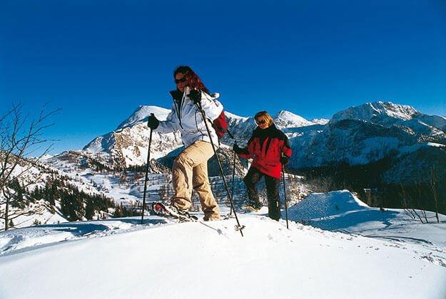 Schneeschuhwandern im Berchtesgadener Land