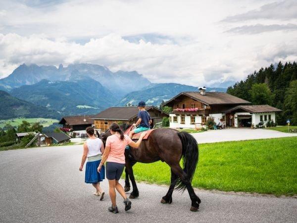 Reiten am Pferdehof Werfenweng