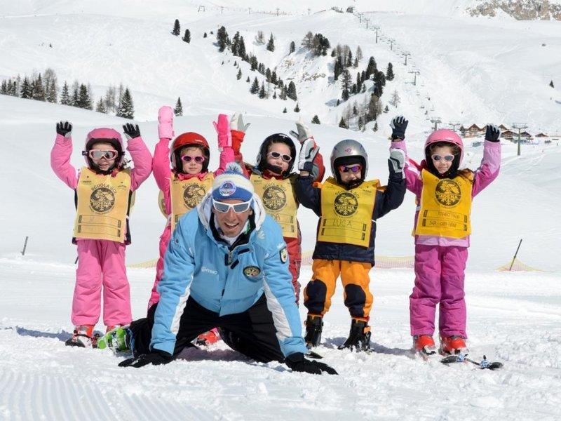 Skikursgruppe