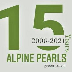 Logo 15 Jahre Alpine Pearls