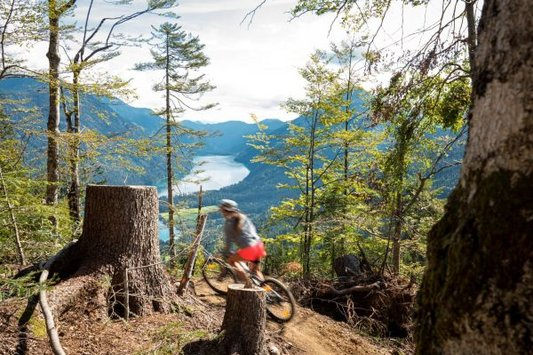 Mountainbike Trail am Weissensee (c) Dietmar Denger