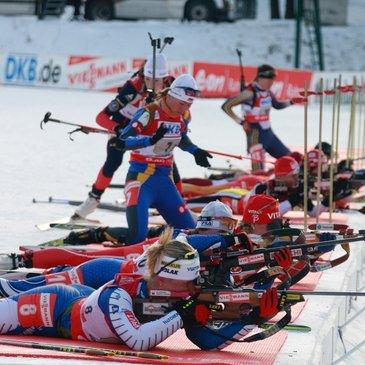 Biathlon im Pokljuka