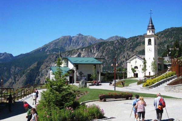 Ortszentrum Chamois Matterhorn