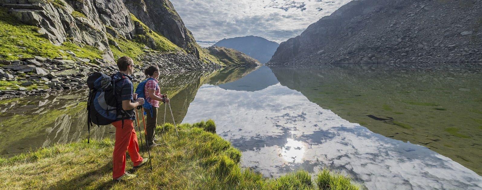 Wanderung Rheinquelle Disentis