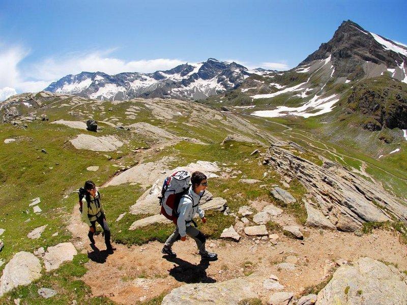 Wandern in hohen Höhen