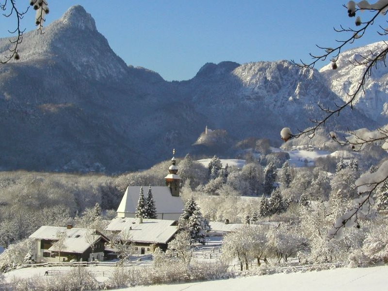 Winterlandschaft Bad Reichenhall (c) Berchtesgadener Land Tourismus GmbH