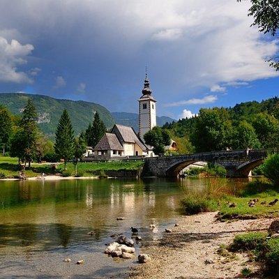Wocheiner See Bohinj, Slowenien