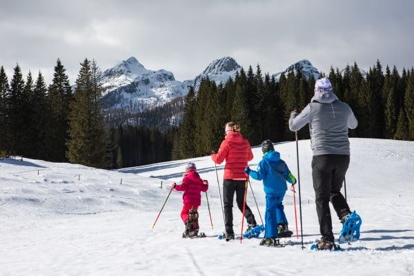 Schneeschuhwandern Bled (c) Jost Gantar Velika
