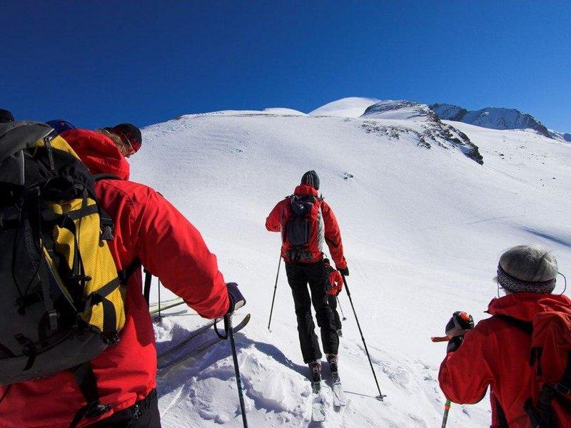 geführte Skitour