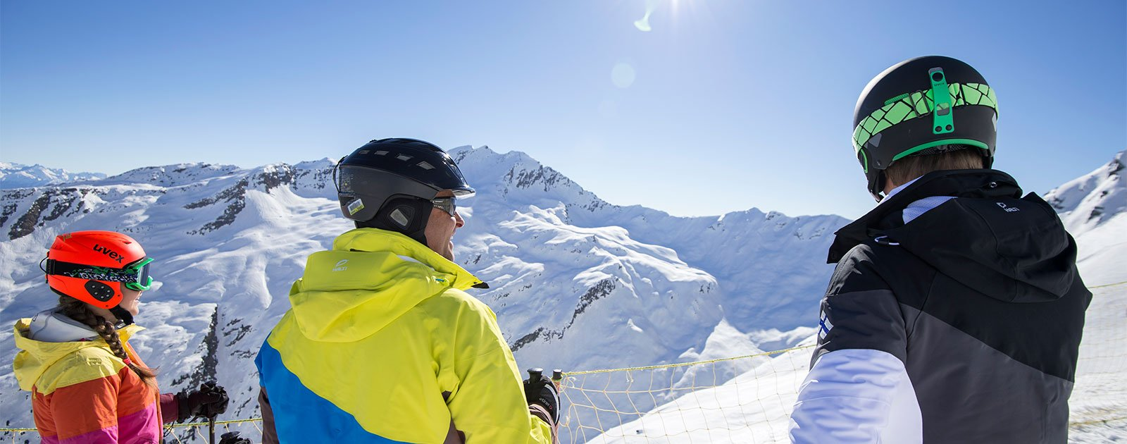 Skifahren in Pfelders