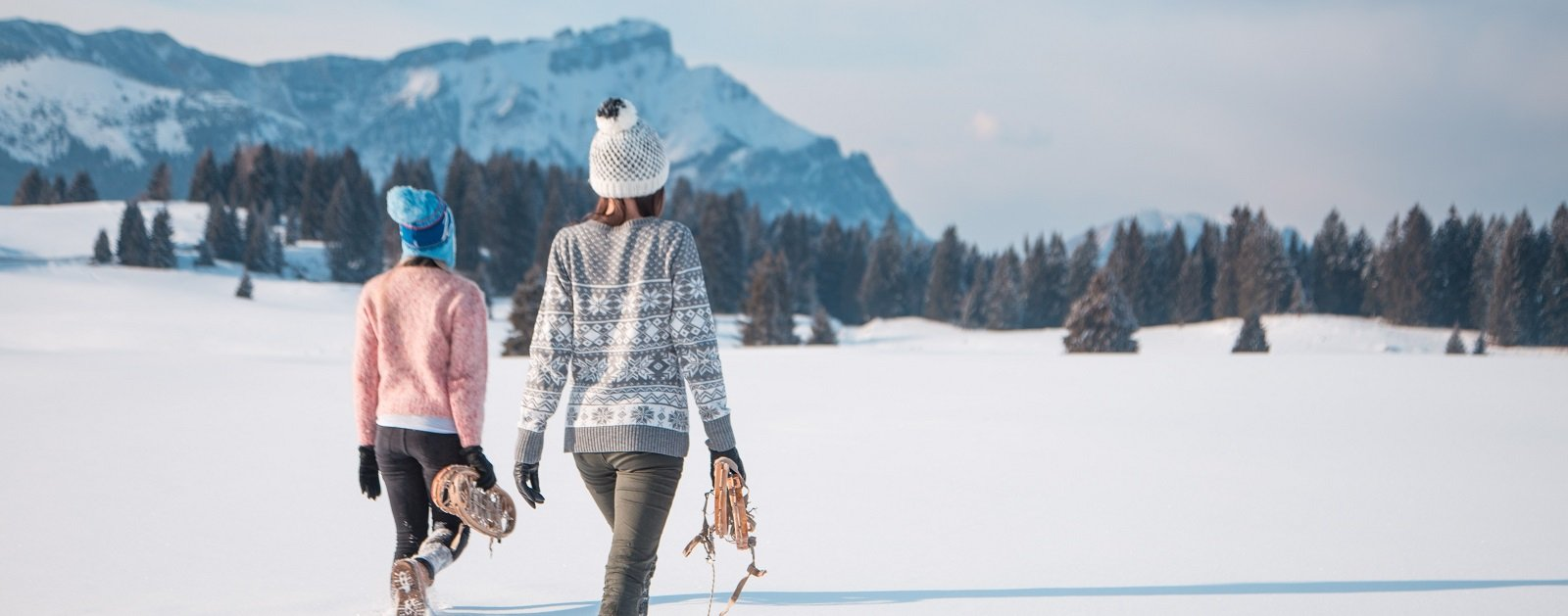Schneeschuhwandern Alpe Cimbra (c) Gober