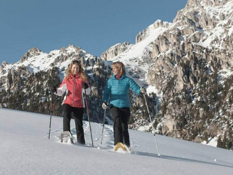 Schneeschuhwanderung im Villnösser Tal