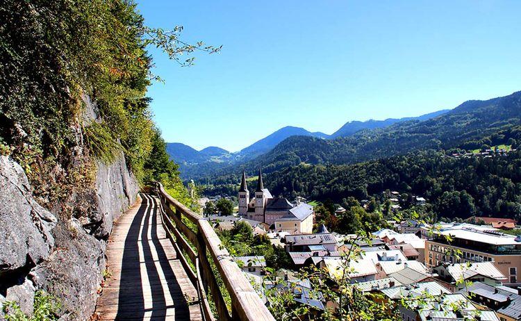 Am SalzAlpenSteig oberhalb von Berchtesgaden