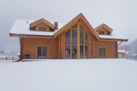 Houghton Haus Ferienhaus Mallnitz Winter