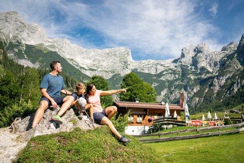 Sommerurlaub in den Bergen