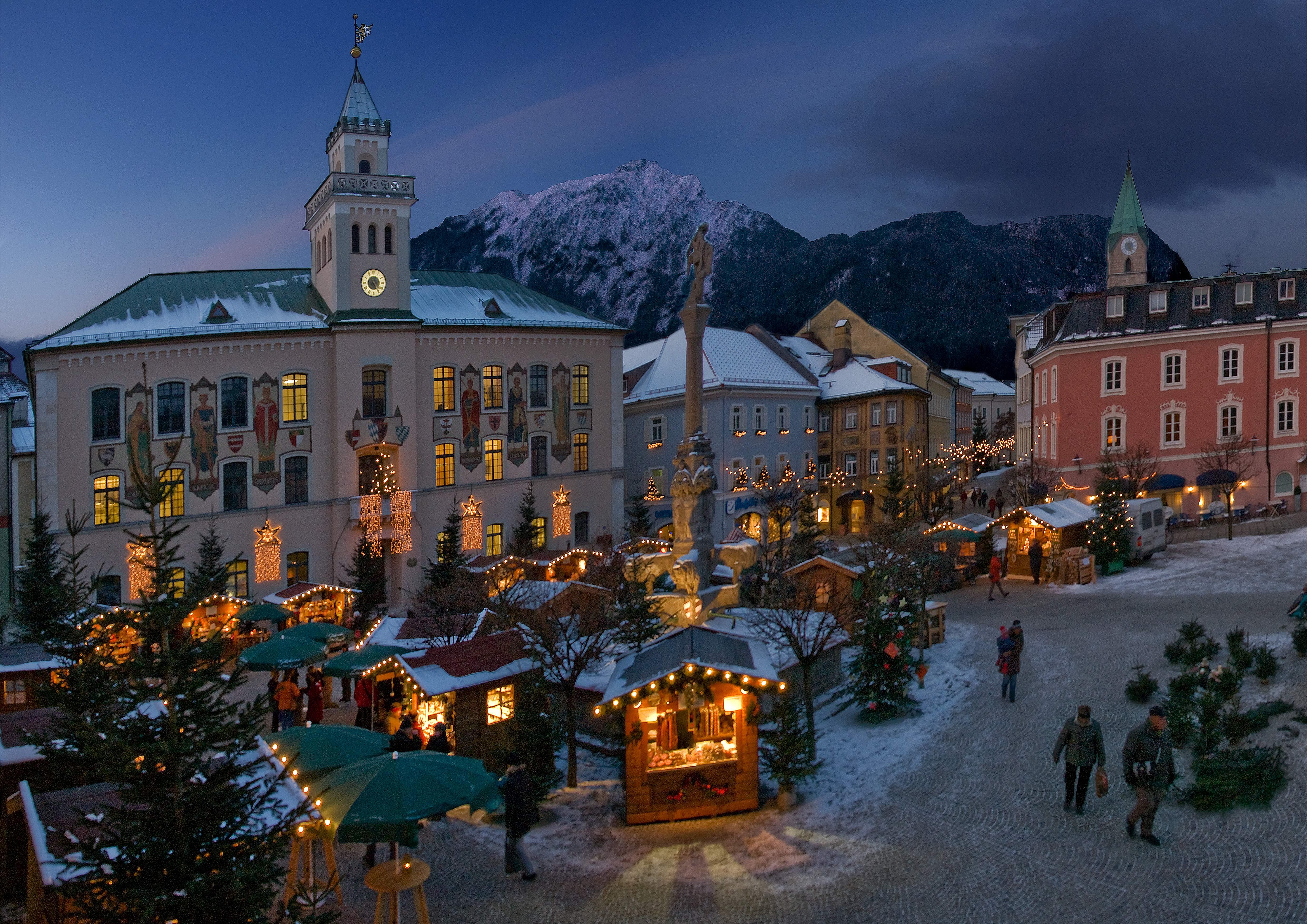 Christmas atmosphere in the Alpine Pearls