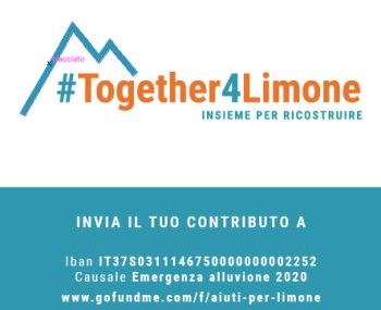 Spendenaktion für die Unwetterkatastrophe in Limone Piemonte